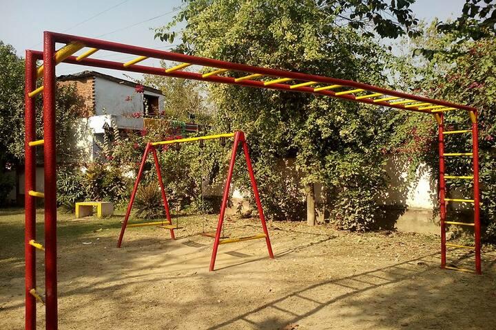 Basubaral Saraswati Vihar Senior Secondary School-Playground