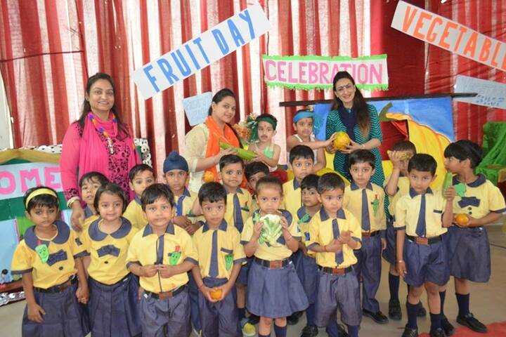 Bedi International  School-Fruits and Vegetables day