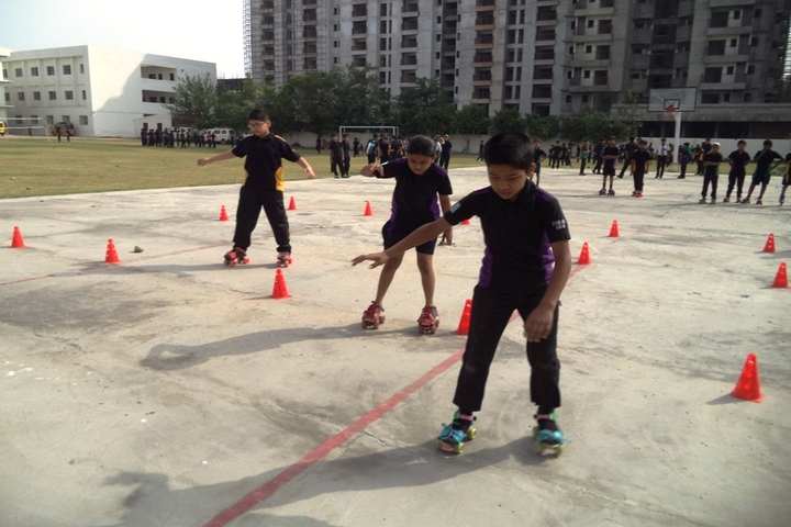 Bedi International School-Skating