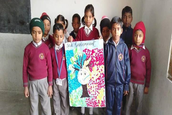 Beena Public School-Save environment activity