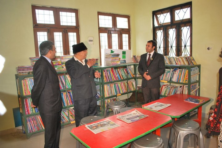 Benison School-Library