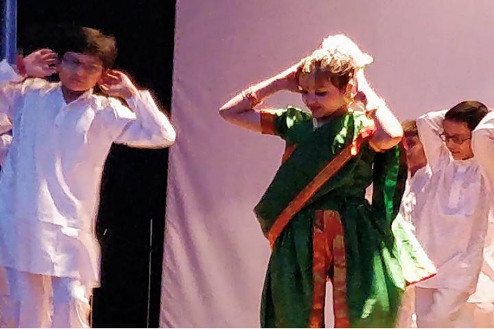 Bharat Ram Global School-Folk Dance Competition