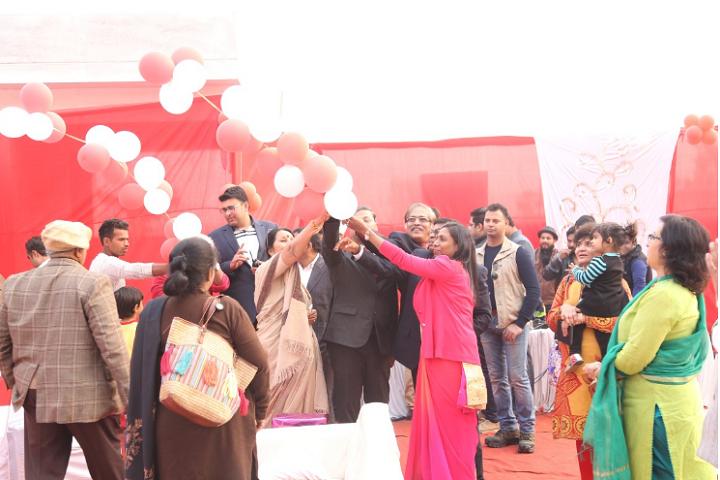 Bharat Ram Global School-Christmas Day Celebrations