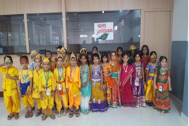 Bharat Ram Global School-Krishna Jayanthi Celebrations