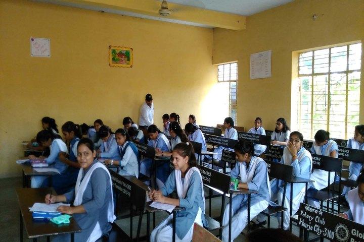 Bharat Vikas Parishad Kanya Ucha Madhyamik Vidyalaya-Class room