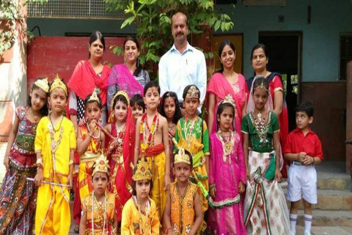 Bhartiya Vidyapeeth Senior Secondary School-Krishnashtami
