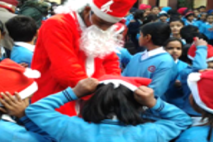 Bhartiya Vidyapeeth Senior Secondary School-Christmas Celebration