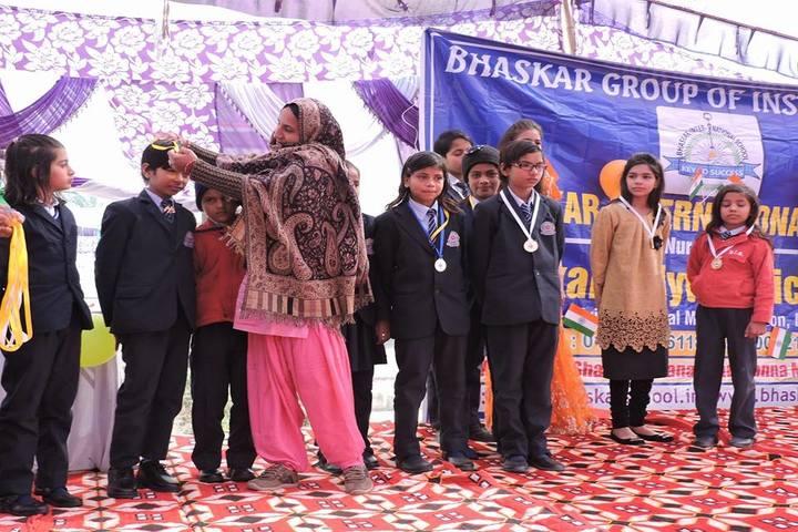 Bhashkar International School-Prize Distribution