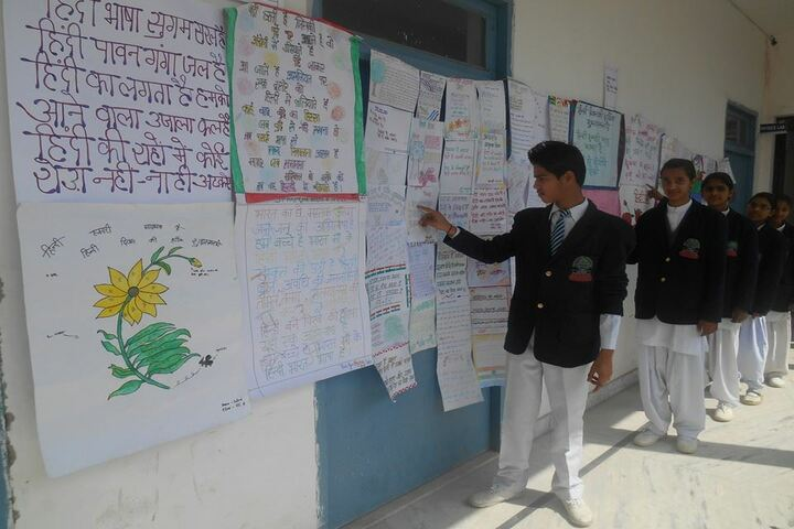 Bijnor Public School-Exhibition
