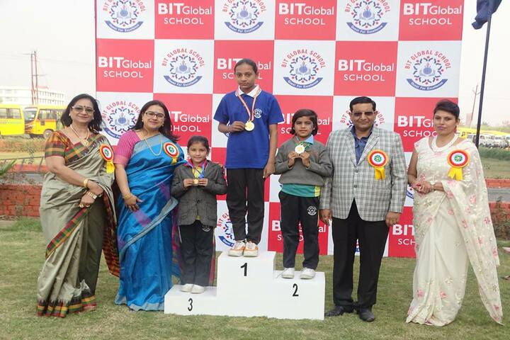 Bit Global School-Annual sports meet
