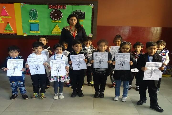 Bit Global School-Black and white colour Day Celebrations