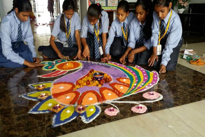 Bloom International School-Diwali Celebrations