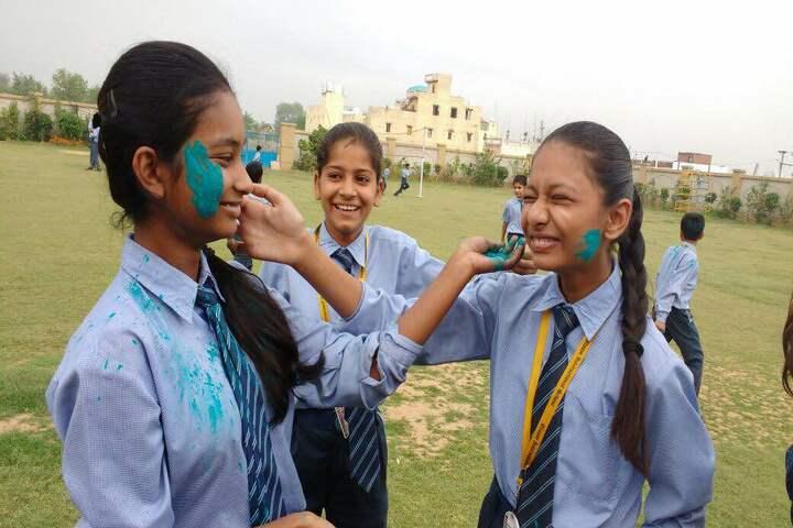 Bloom International School-Holi Celebrations