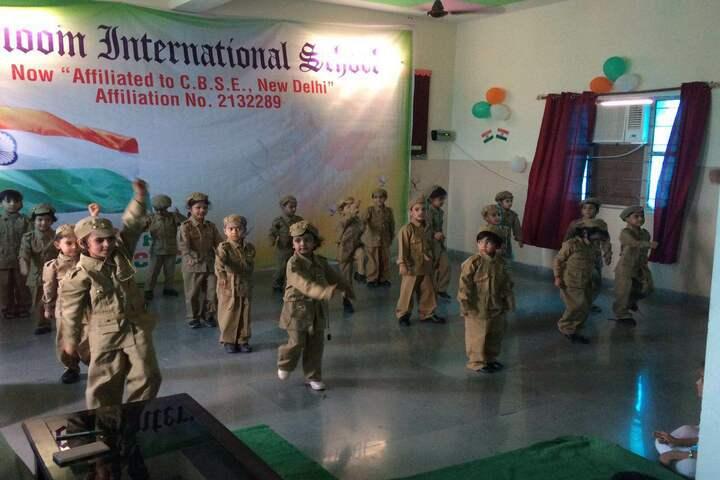 Bloom International School-Independence Day Celebrations