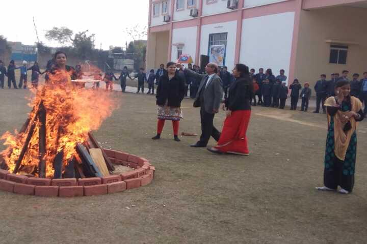 Bloom International School-Lohri Celebrations