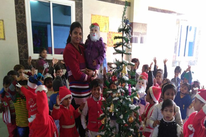 Bloom Public School-Christmas Day Celebration