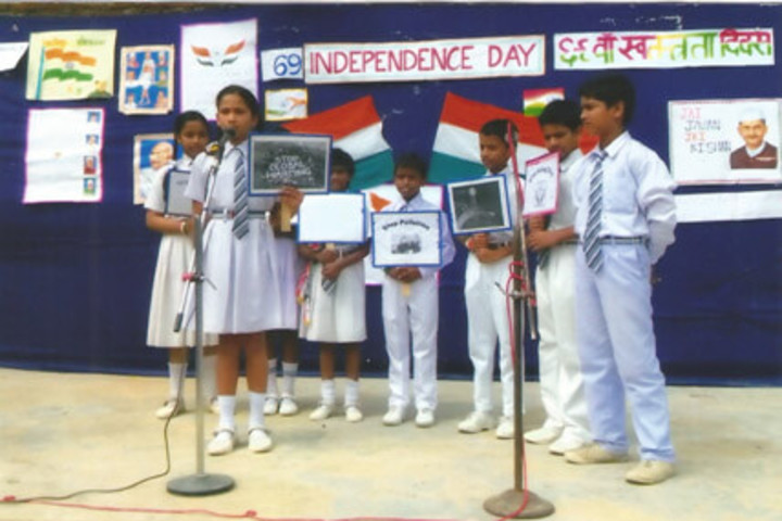 Blooming Buds English School-Independence Day Celebration