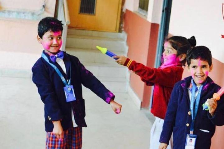 Blooming Buds School-Holi Celebrations