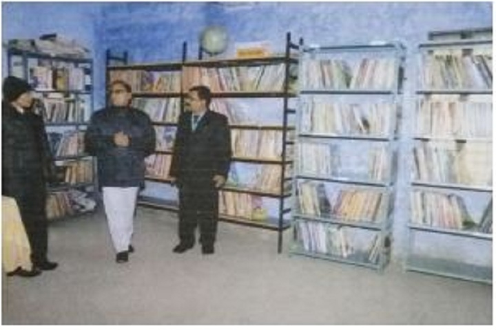 Blooming Buds Higher Secondary School-Library