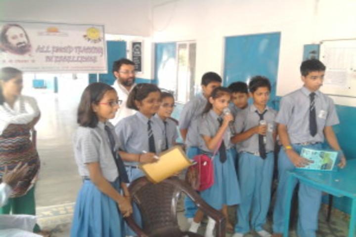 Blue Bell Dr Ram Tirth Dube Memorial School-Quis