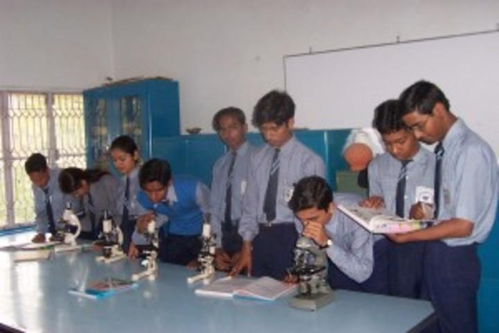 Blue Bell Dr Ram Tirth Dube Memorial School-Biology Lab