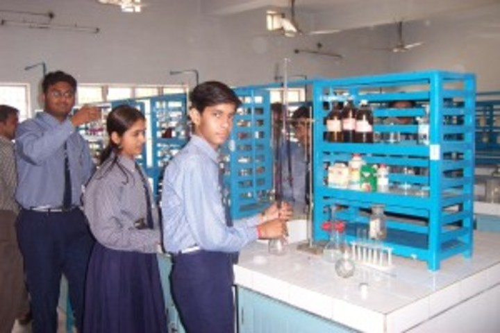 Blue Bell Dr Ram Tirth Dube Memorial School-Chemistry Lab