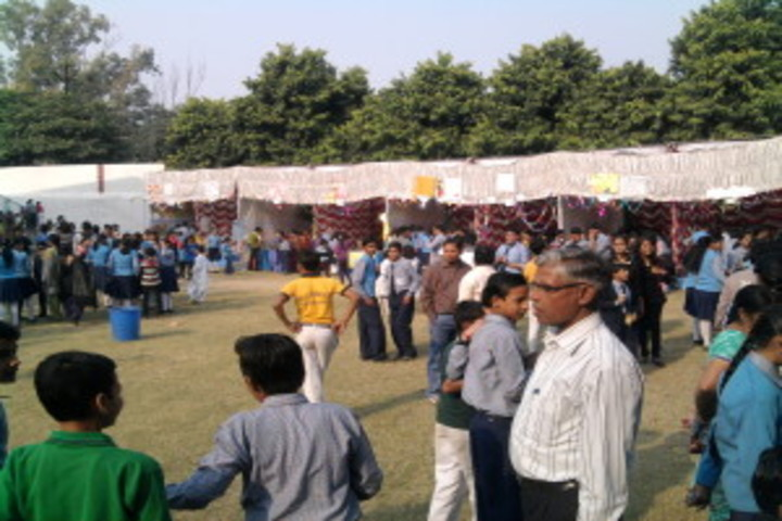 Blue Bell Dr Ram Tirth Dube Memorial School-View of the Fete
