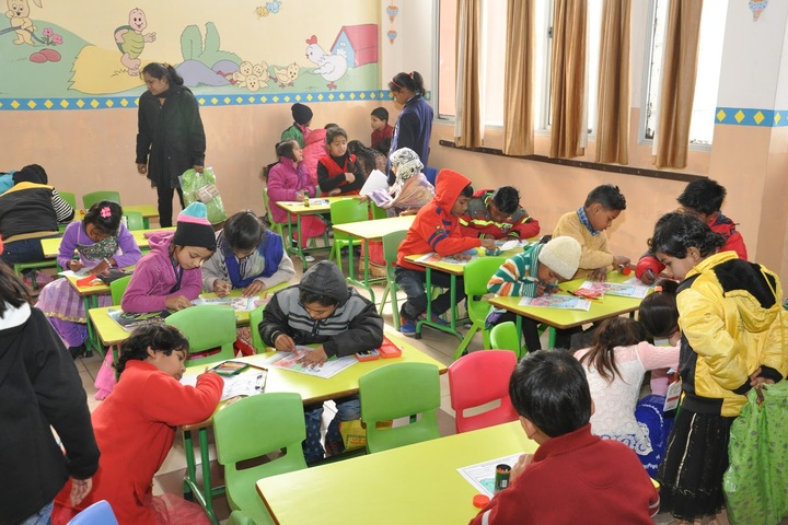 BNG International School-Colouring Compitition