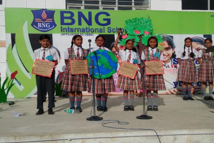 BNG International School-Earth Day