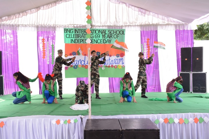 BNG International School-Independence Day