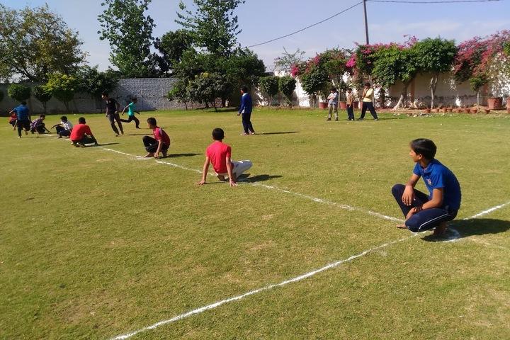 BNG International School-Kho Kho game