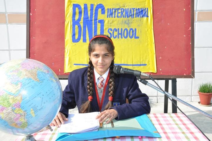 BNG International School-News reading
