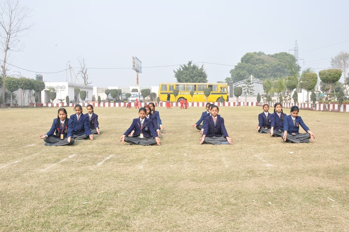 BNG International School-Yoga Activity