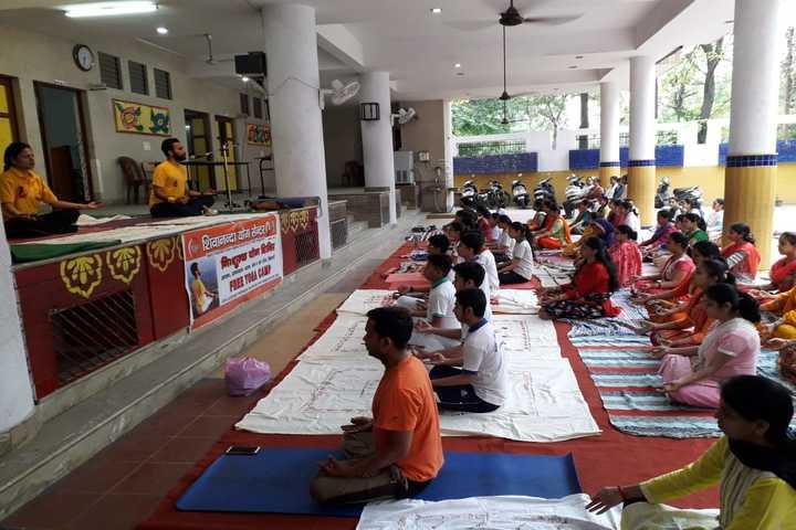 Bonny Anne Public School-Yoga Day