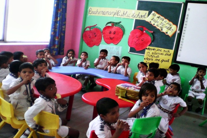 Brahmanand Public School-Apple Day Celebration