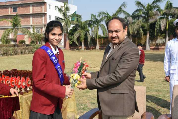 Brahmanand Public School-Guest Welcome