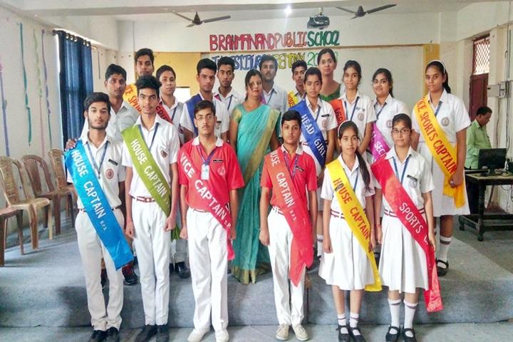 Brahmanand Public School-Investiture Caremony