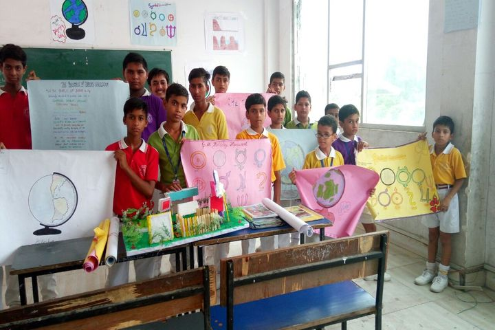 Brahmanand Public School-Science Day