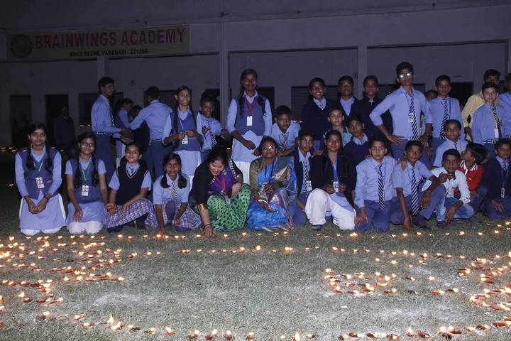 Brainwings Academy-Diwali Celebrations