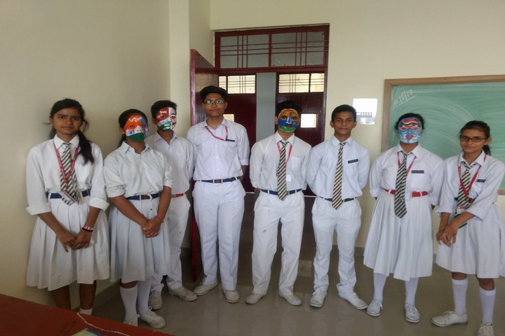 Brightland School-Face Painting Competition