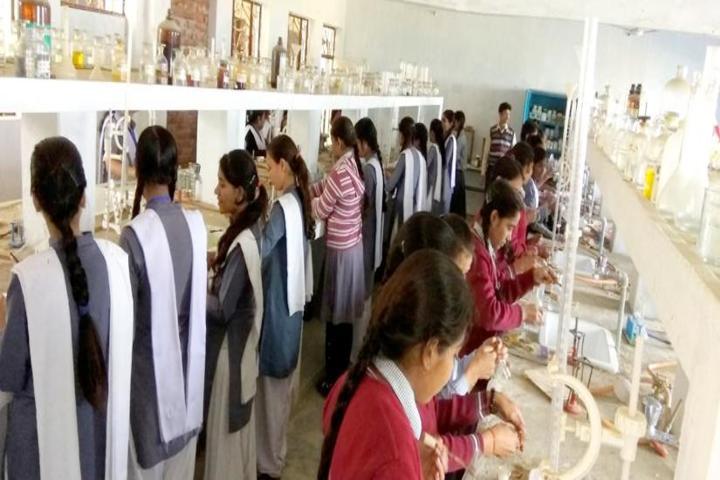 Brij Behari Sahai Vidya Mandir-Chemistry Lab