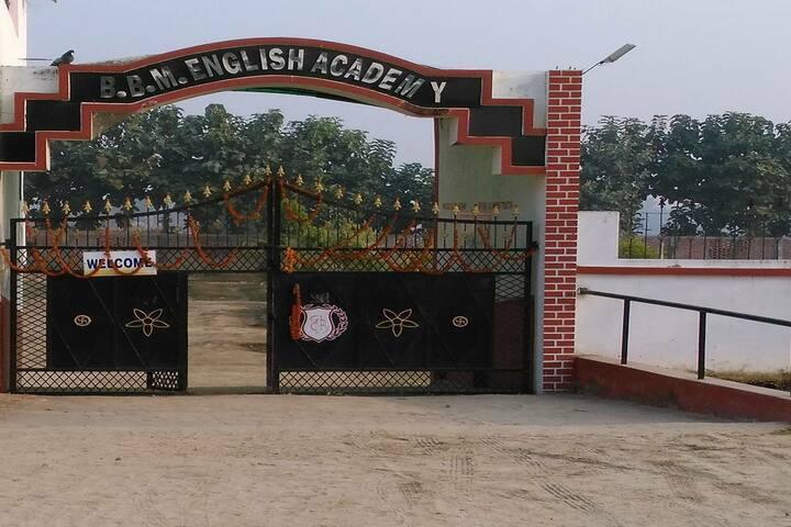 Brij Bhushan Memorial English Academy-Entrance View