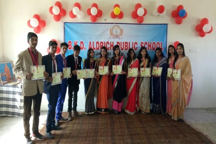 Brij Kunwar Devi Aldrich Public School-Achievement