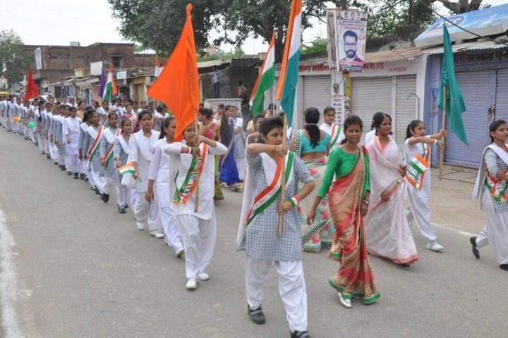 Brij Kunwar Devi Aldrich Public School-Ralley
