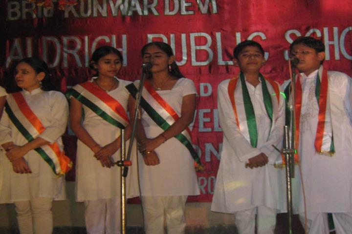 Brij Kunwar Devi Aldrich Public School-Singing