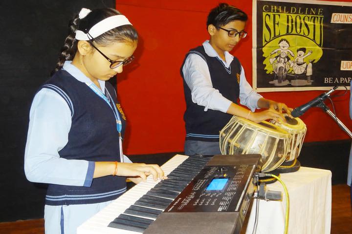 Brilliant Public School-Music Compitition