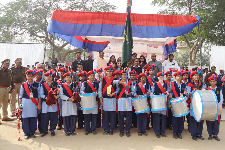 Brilliant Public School-Scouts And Guides Team