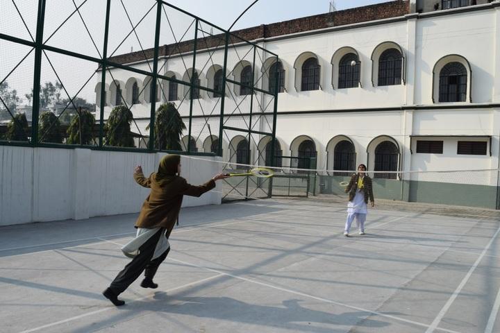 Brownwood Public School-Badminton