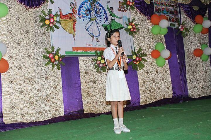 Saraswati Vidya Mandir-Student Speech
