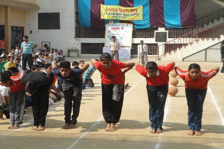 C S H P Memorial Public School-Sports